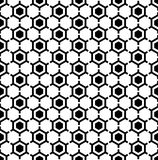 Hexagons pattern. Seamless geometric texture. Royalty Free Stock Photography