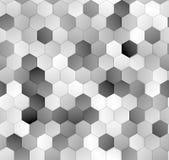 Hexagons pattern seamless texture Stock Image