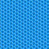 Hexagons. Removal of blue superimposed honeycombs. A bright and bright background for your work. Wallpaper for Web sites. Monotone Royalty Free Stock Photo