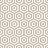 Hexagons seamless pattern Royalty Free Stock Photos