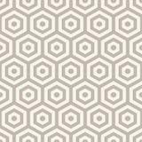Hexagons seamless pattern Royalty Free Stock Photos