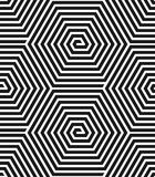 Hexagons texture. Seamless geometric pattern. Stock Images