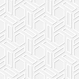 Hexagons vector seamless texture Stock Photo