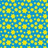 Hexagram pattern Stock Images
