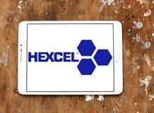 Hexcel Korporacja logo obraz royalty free