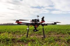 Hexcopter dron Royalty-vrije Stock Fotografie