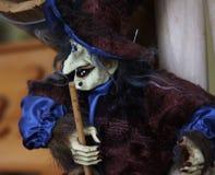 Hexe in einer Vielzahl von Kostümen - eine des populärsten souveni Lizenzfreie Stockbilder