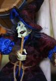 Hexe in einer Vielzahl von Kostümen - eine des populärsten souveni Stockbilder