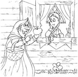 Hexe und Prinzessin Stockfotografie