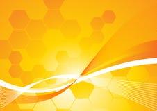 Hexe-Wellen-Hintergrund Stockfotos