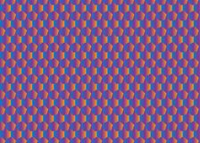 Hexen-Fliesen-Muster vektor abbildung