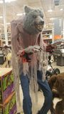 Hexen furchtsame Oktober Halloweens Home Depot lizenzfreie stockfotografie