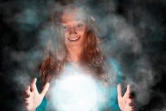Hexenfrau Stockfoto