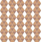 Hexagon  seamless repeat pattern vector illustration