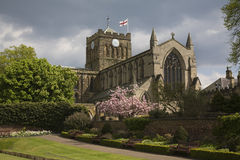 Hexham Abbey Stock Image