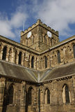 Hexham Abbey and Clock Tower Royalty Free Stock Photo