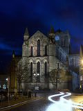 Hexham Abbey by Twilight Stock Photo