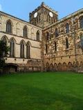 Hexham-Abtei draußen Stockbild