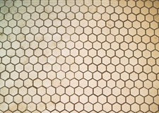 Hexigon tile Royalty Free Stock Images