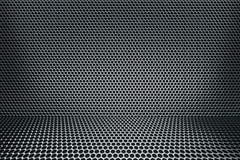 Hexmesh Raum-Hintergrund stock abbildung