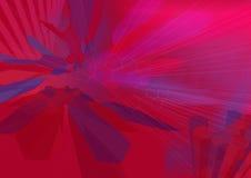 HexZoom2 wireframe - una serie ilustración del vector