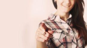 Hey вы язык жестов, жесты, психология Стоковые Фото