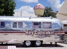 Hey bigné - venditore di alimento del dessert immagini stock
