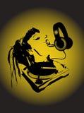 Hey DJ Royalty-vrije Illustratie