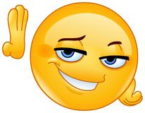 Free Hey Good Lookin Emoticon Stock Photo - 123108690