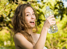 Hey, hydrate! Royalty Free Stock Photo