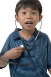 Hey I can't hear my heart Stock Photo