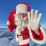 Hey, kids. I'm Santa Claus! Royalty Free Stock Image