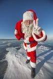 Hey, kids. I'm Santa Claus! Royalty Free Stock Photos