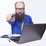 Hey you - Businessman (Series) Stock Images