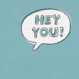 Hey You! Exclamation Words Royalty Free Stock Photos