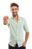 Hey you! Royalty Free Stock Image