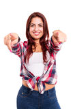 Hey ! You there! Royalty Free Stock Images
