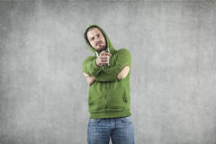 Hey you, yes you. I pointing at you Stock Photos