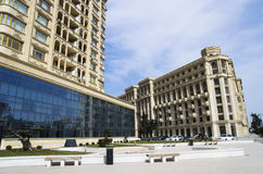 Heydar Aliyev aleja Obrazy Royalty Free
