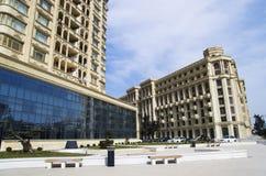 Heydar Aliyev Avenue Lizenzfreie Stockbilder