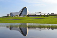 Heydar Aliyev Center Stockfoto