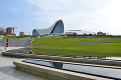 Heydar Aliyev Center Immagine Stock