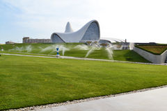 Heydar Aliyev Center Fotografie Stock