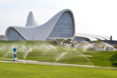 Heydar Aliyev Center Photo stock