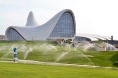 Heydar Aliyev Center Foto de archivo