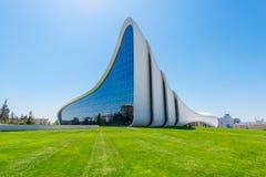 Heydar Aliyev Center Royaltyfri Fotografi