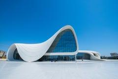 Heydar Aliyev Center Imagenes de archivo