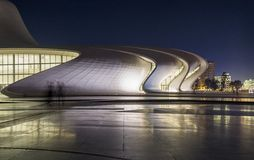 Heydar Aliyev Center Stock Afbeelding