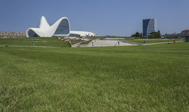 Heydar Aliyev Center in Baku Royalty Free Stock Images