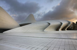 Heydar Aliyev Center in Baku. Azerbaijan Royalty Free Stock Images